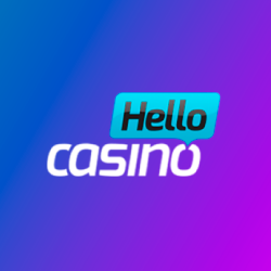Hello Casino 100% up to €100 + 25 bonus spins