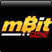 mBit Casino  up to 1 BTC and 250 free spins deposit casino bonus