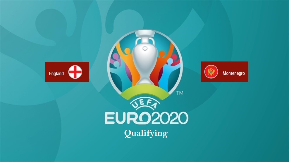 England vs Montenegro - Schedule, Odds and General Info on UEFA Euro 2020 Qualifier