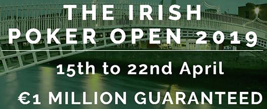 Irish Poker Open 2019 schedule Announced