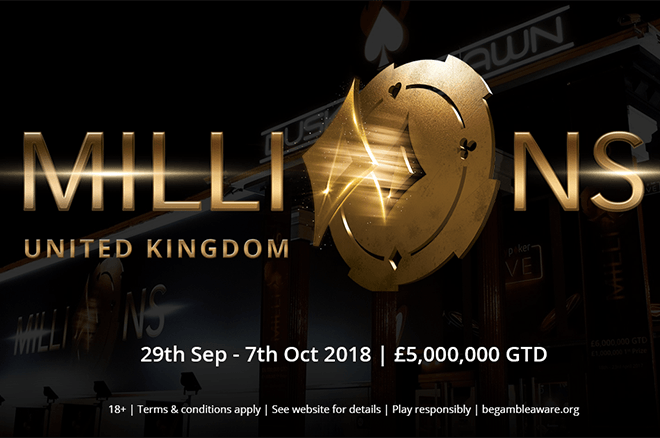 Guaranteed �8.5 Million up for Grabs at partypoker LIVE MILLIONS UK