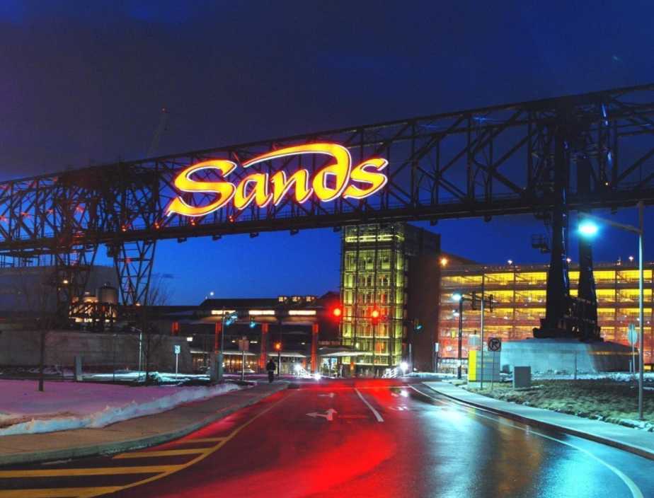 Sands Casino fined almost $40K for underage gambling