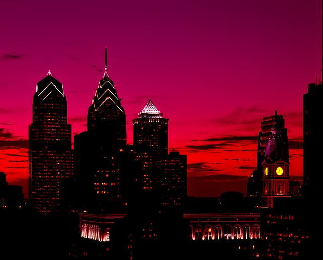 picture of Philadelphia skyscrapers