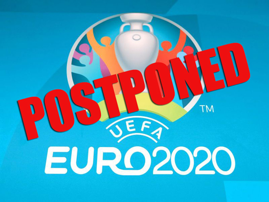 Euro 2020 Postponed until Summer 2021; Domestic Leagues to be Completed by June 30