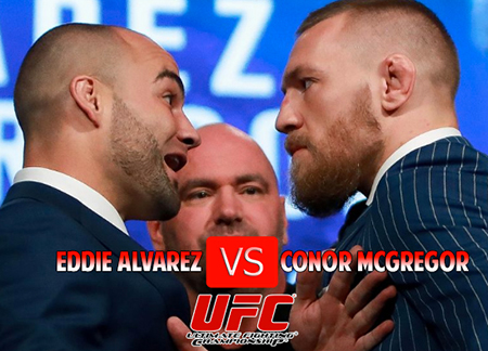 UFC Lightweight Title Fight This Saturday!