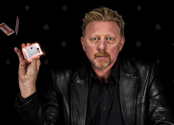 boris becker poker