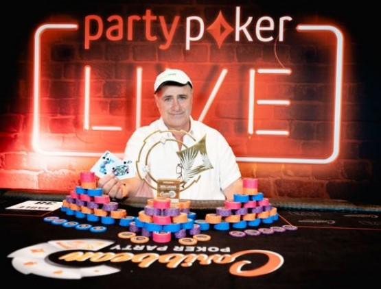 Partypoker�s CPP $50,000 SHR won by Giuseppe Iadisernia for $845,000