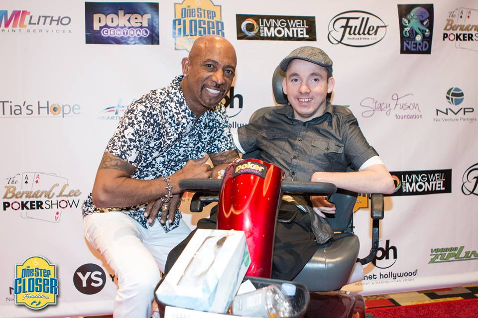 Montel Williams and Jacob Zalewski