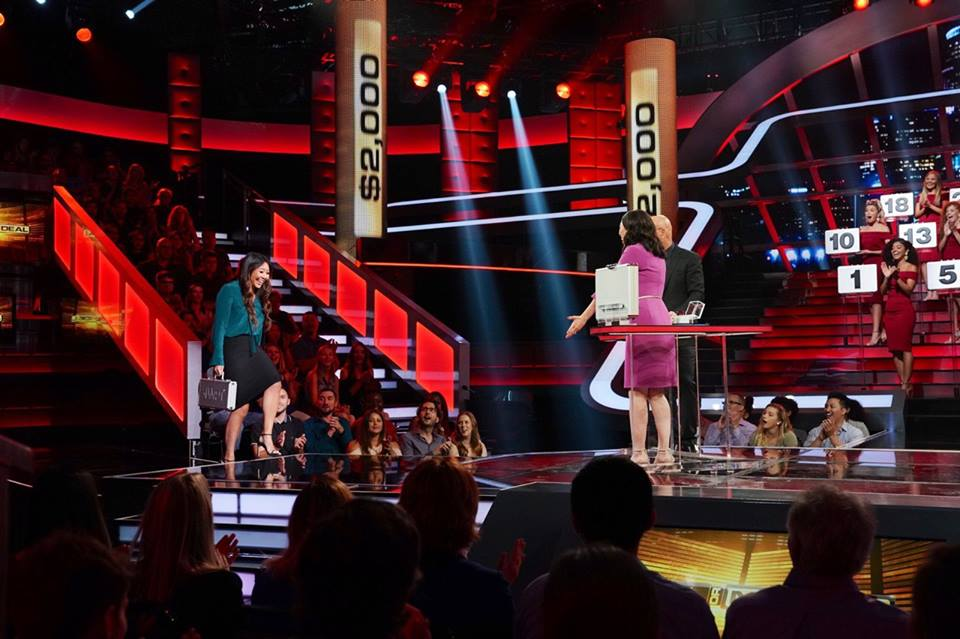 Maria Ho appeared in Deal or No Deal as Special Guest to Help Poker Fan Contestant