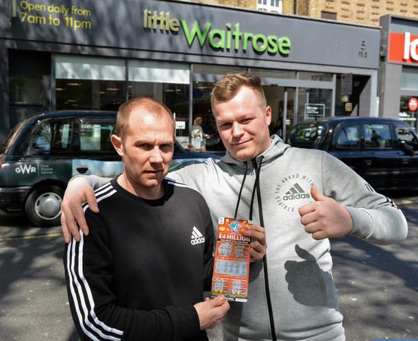 Mark Goodram and Jon-Ross Watson