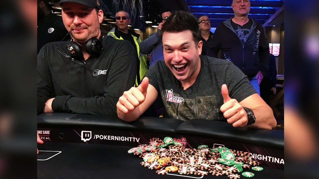 Phil Hellmuth (left) & Doug Polk (right)