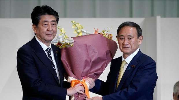 Shinzo Abe & Yoshihide Suga