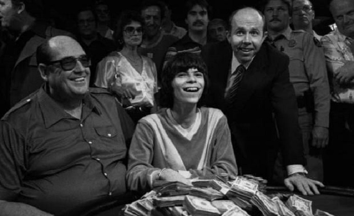 Stu Ungar's first Main Event win (with Doyle Brunson and Jack Binion)