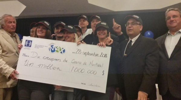 Canadian Poker Dealers Hit Lottery Jackpot