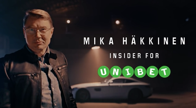 F1 Legend Joins Team Unibet