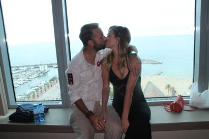 Daniel Negreanu with Girlfriend Marissa Rachelle Rodney