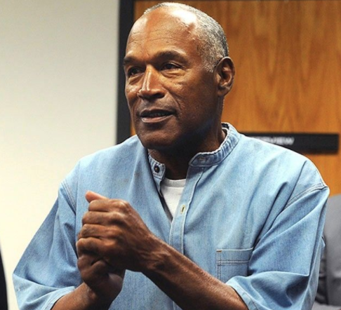Fresh Out of Prison OJ Simpson banned from Las Vegas Casino