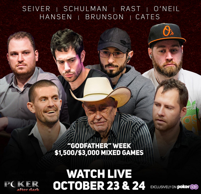 Doyle Brunson as Main Feature in �Poker After Dark' Mixed Game Action in Bobby's Room