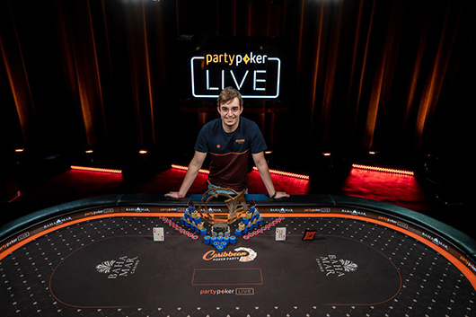 partypoker's Caribbean Poker Party $5300 Main Event won by Filipe Oliveira for $1.5M