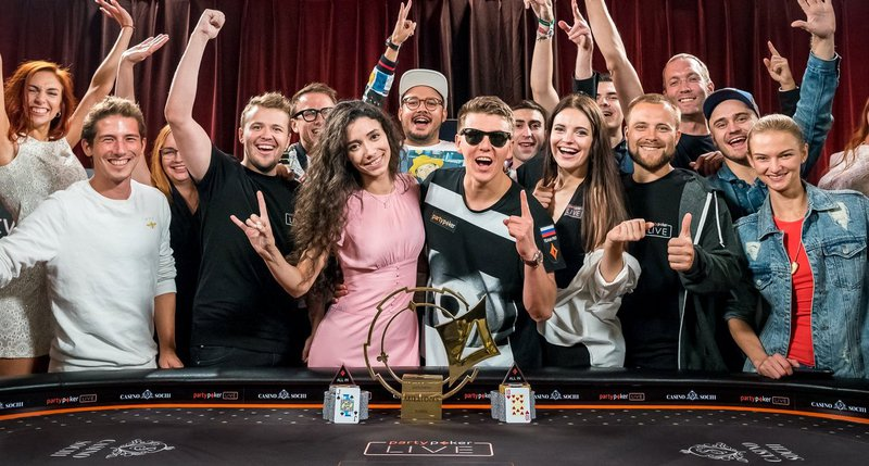 partypoker LIVE MILLIONS Russia Main Event won by Anatoly Filatov for $886,200