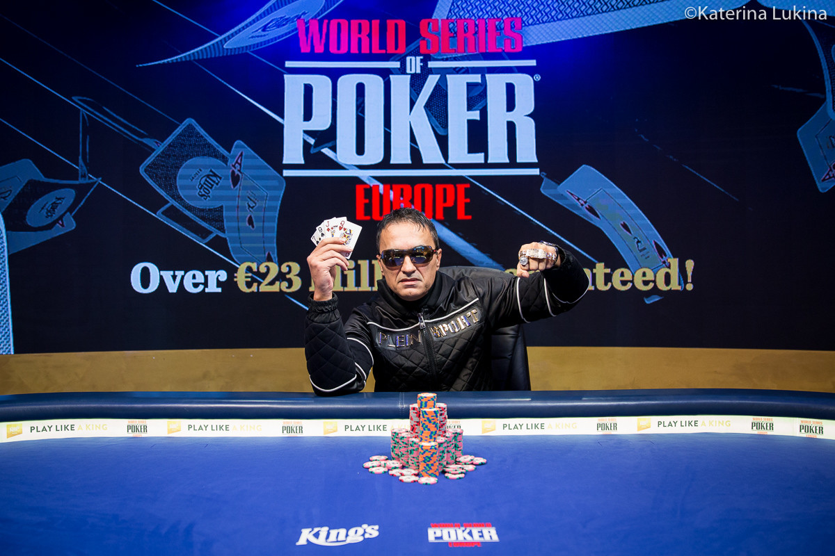 WSOPE €25,500 Mixed Games Championship won by Besim Hot, Hellmuth misses 16th Bracelet