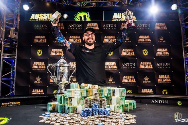 2019 Aussie Millions Main Event won by Bryn Kenney for AU$1,272,598