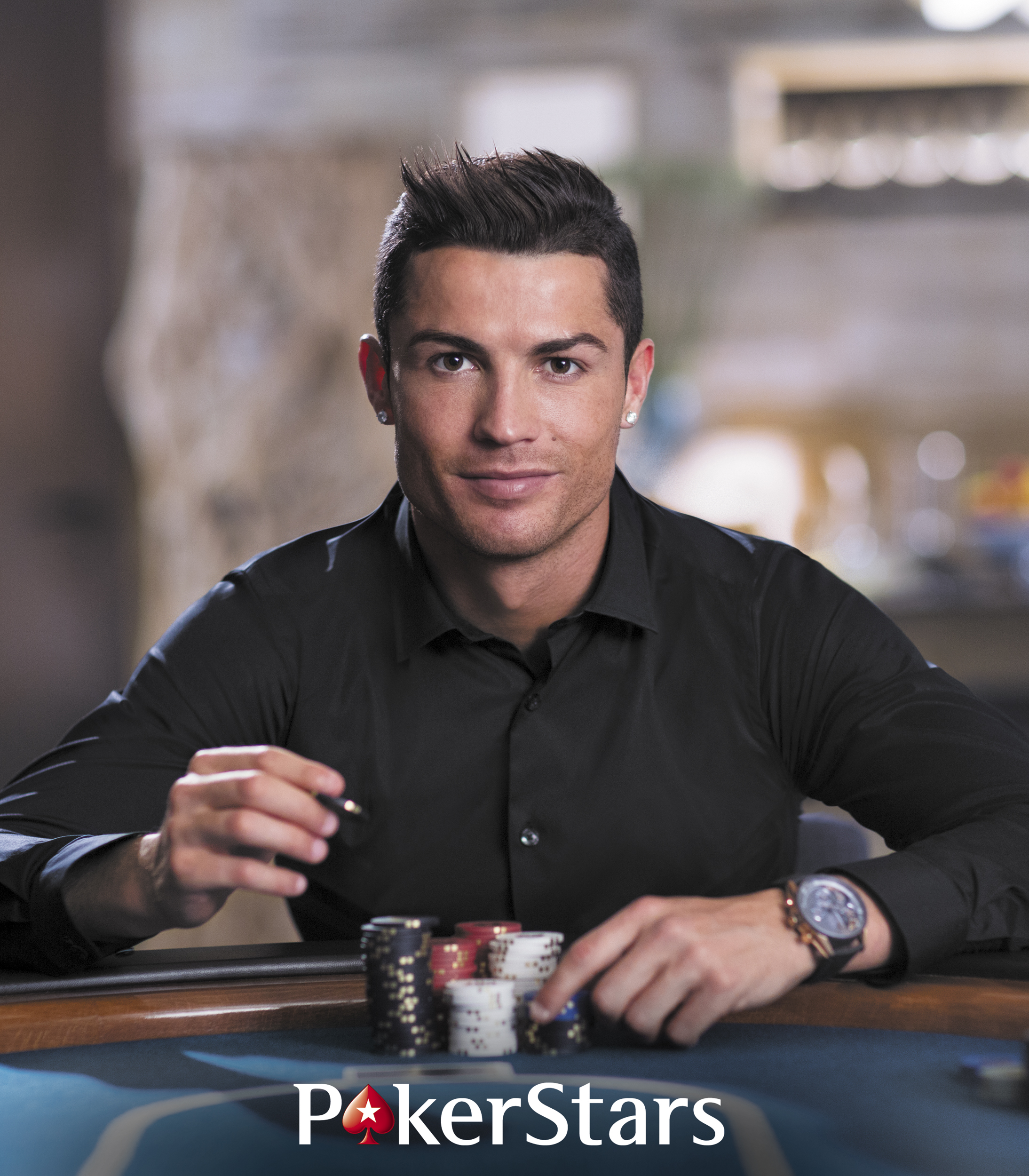 CRISTIANO RONALDO JOINS POKERSTARS