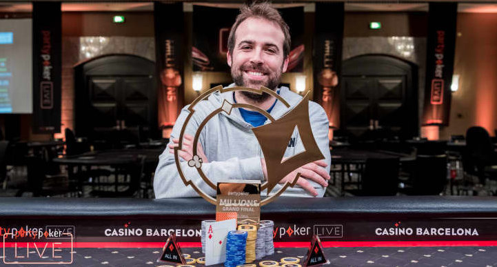 Partypoker LIVE MILLIONS Grand Final Barcelona Main Event won by Pascal LeFrancois for €1,700,000