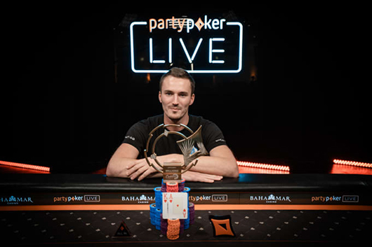 partypoker's CPP $250K Super High Roller Championship won by Steffen Sontheimer for $3.6M
