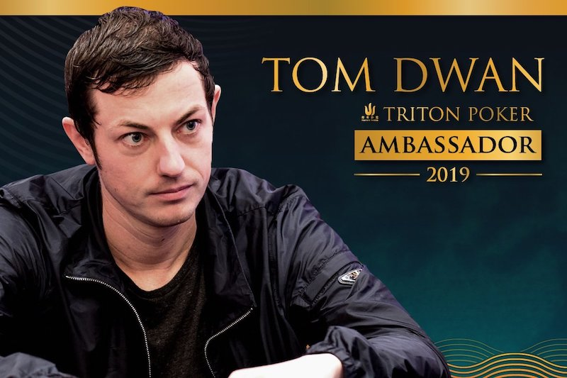 Tom Dwan becomes Latest Brand Ambassador of Triton Poker