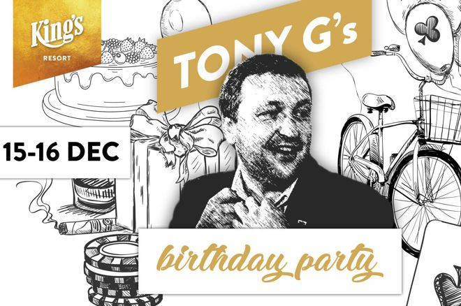 partypoker honors Tony G's Birthday with €200K PLO Event at King's Casino