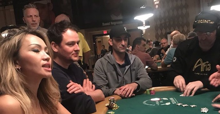 Phil Hellmuth Harassed by UK Poker Pro 'NutterRutter