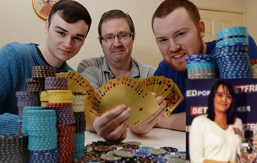 Four Of A Kind: Family All Quit Their Jobs To Play Poker