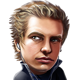The avatar Viktor Blom will use on Unibet