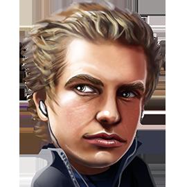 Blom's avatar at Unibet Poker