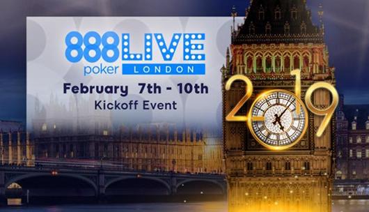 888poker LIVE starts 2019 Season in London