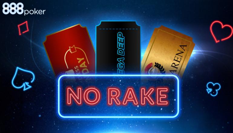 888poker to host Seven Rake-Free Tournaments once again on Sunday