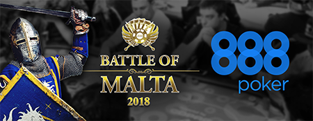 Battle of Malta 2019 returns with €1M GTD Main Event! Win a Luxury Package for just 1 Penny via 888poker