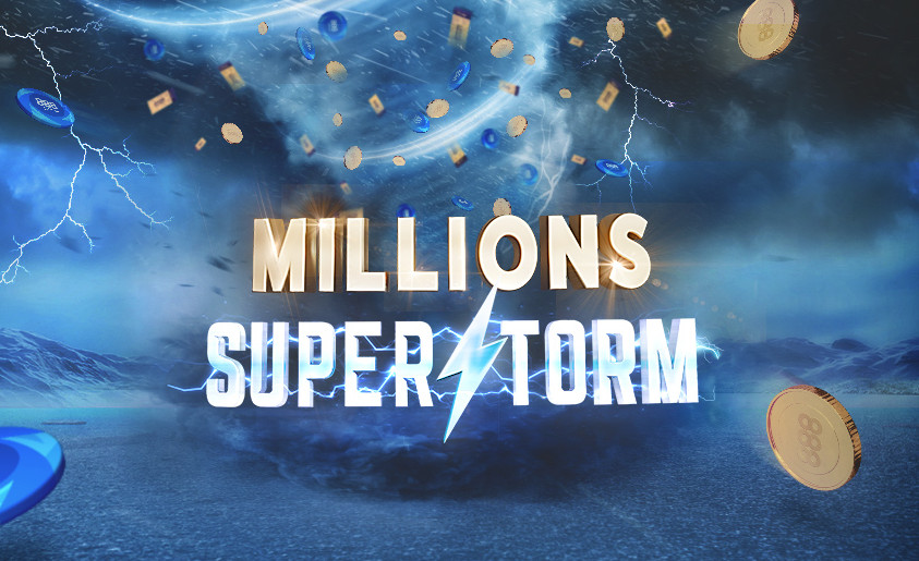 888poker Millions Superstorm - 3 Ways to Win $1M!