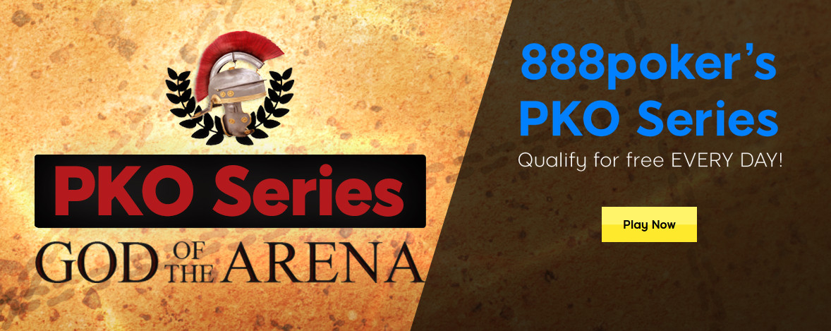 888poker God of the Arena PKO Series returns this November