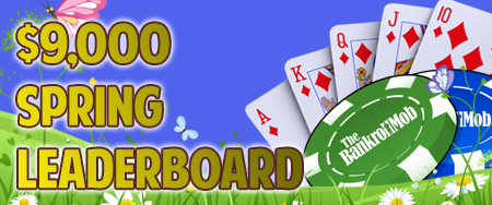 888poker Spring Leaderboard With $9,000 In Prizes!