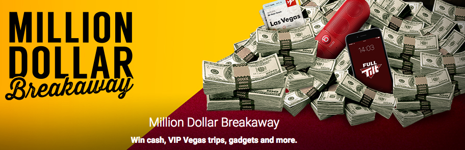 Million Dollar Breakaway: $1 Million In Prize Giveaways!