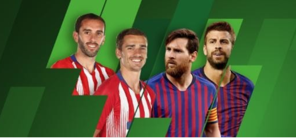 25% live Profit Boost on Atletico Madrid - FC Barcelona