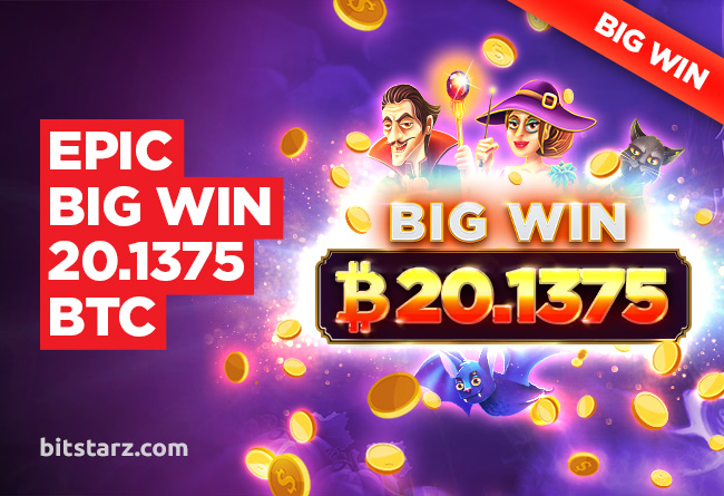 BitStarz player takes home 20.1375 BTC from a Single Spin!
