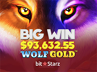 A Howling $93,632 Win On Wolf Gold!