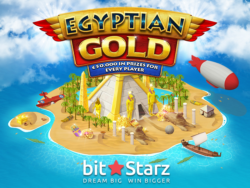 Win €50,000 and a trip to Cairo in Egyptian Gold!