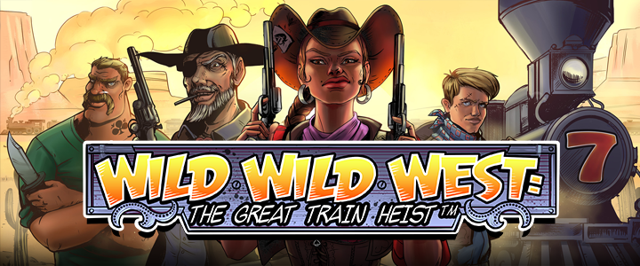 250 FREE SPINS on Wild Wild West: The Great Train Heist