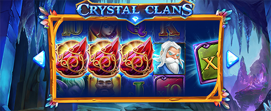 New Video Slot: Crystal Clans (iSoftBet)