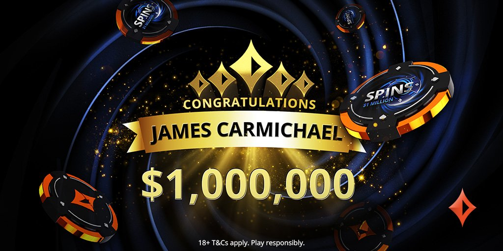 British Poker Player Becomes First SPINS Millionaire at partypoker!