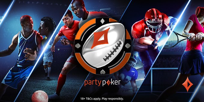 partypoker Road to the Super Bowl Promo